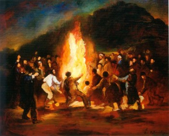 Lag BaOmer Beautiful Painting Image