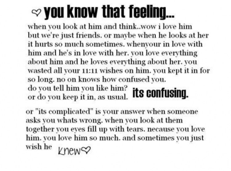 Long Love Quotes you know that feeling