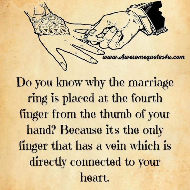 Love Quotes For Husband do you know why the marriage ring is placed at the fourth finger from the