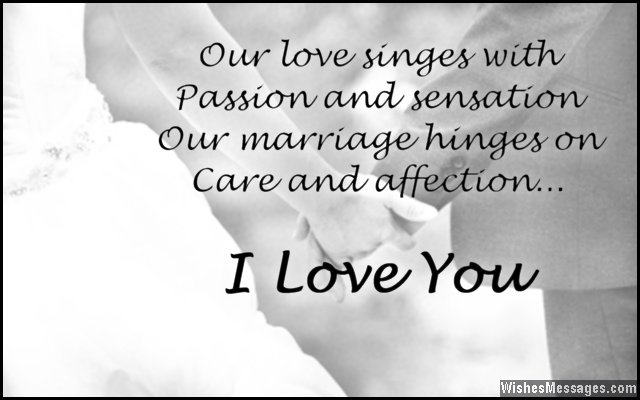 Love Quotes For Husband our love singes with passion and sensation our marriage