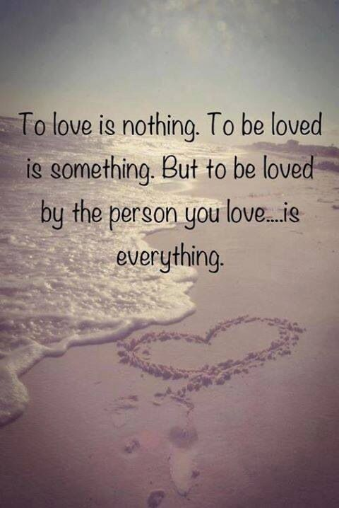 Love Quotes For Wife to love is nothing to be loved