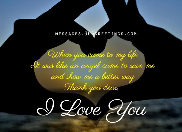 Love Quotes For Wife when you came to my life it