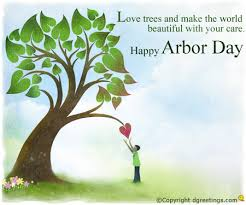 Love tree Save Tree Plant Tree Happy Arbor Day