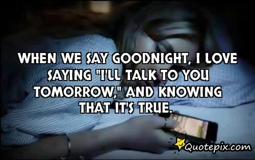 Lovely Good Night Love Quotes