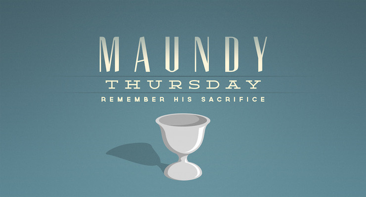 Maundy Thursday Wishes Message Wallpaper
