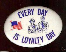 May 1 Happy National Loyalty Day 2017