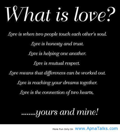 Motivational Love Quotes what is love is when two people touch