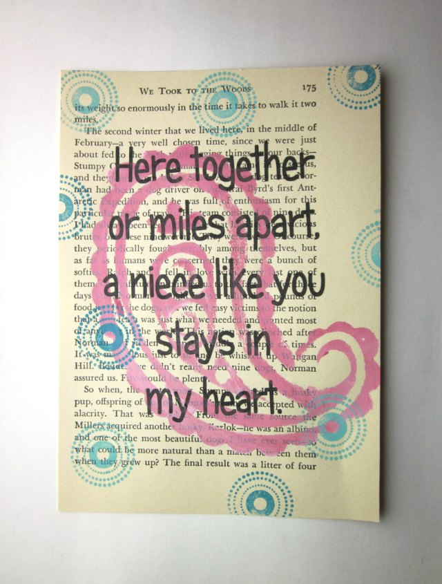 Niece Quotes here together or miles apart a niece like you