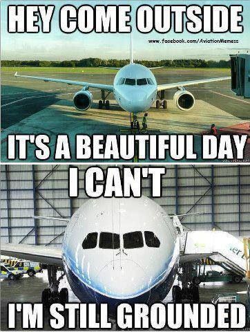 Plane Meme Hey come outside it's a beautiful day i can't