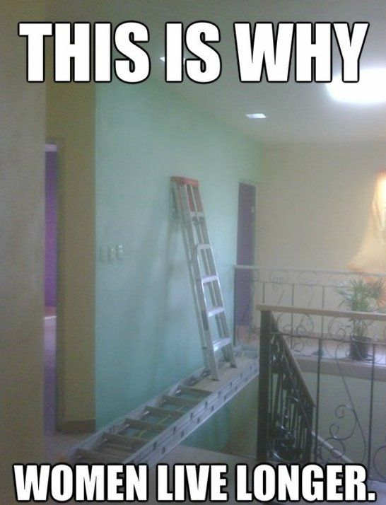 Safety Meme This is why women live longer