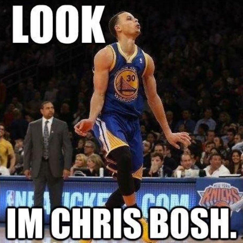 Sports Memes Look in chris bosh