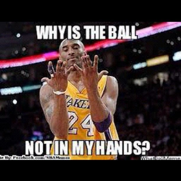 Sports Meme Why is the ball not in my hand
