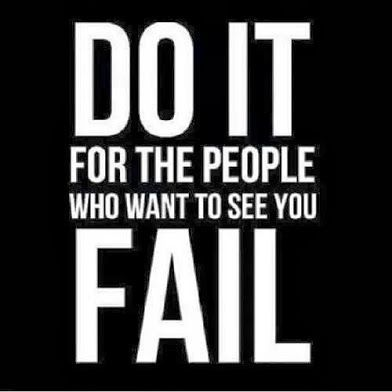 Success Quotes do it for the people who want to see you