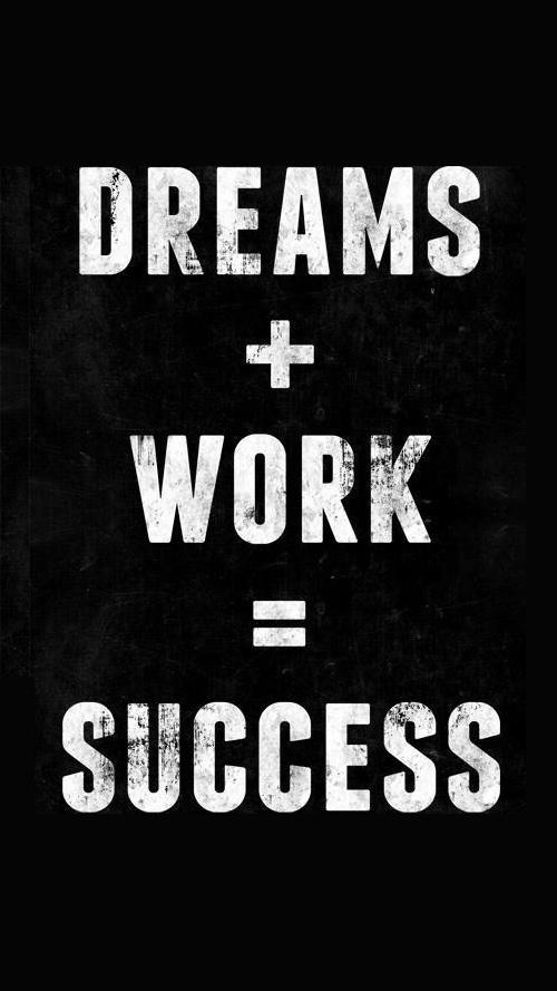 Success Quotes dreams work success