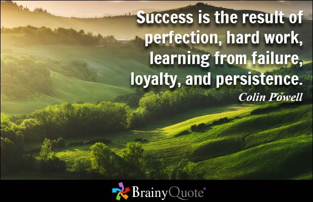 Success Quotes success is the result of perfection hard work learning from