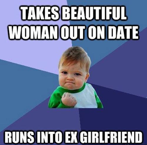 Takes beautiful woman out on date Woman Meme