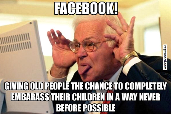 Technology Meme Facebook giving old people the chance to