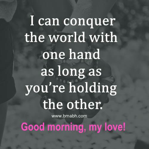 Terrific Good Morning Love Quotes