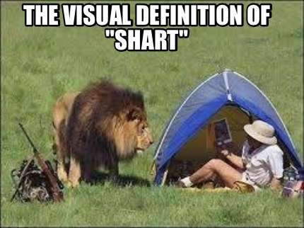 The visual definition fo shart Shart Meme