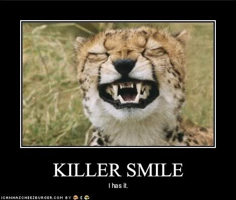 Tiger Meme Killer smile i has it