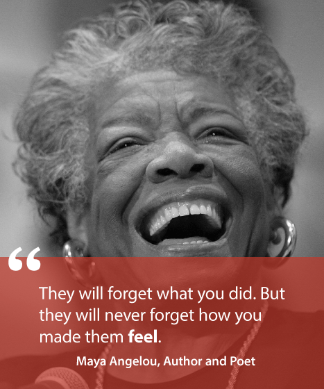Transform Quotes they will forget what you did but they will never forget how you made them feel