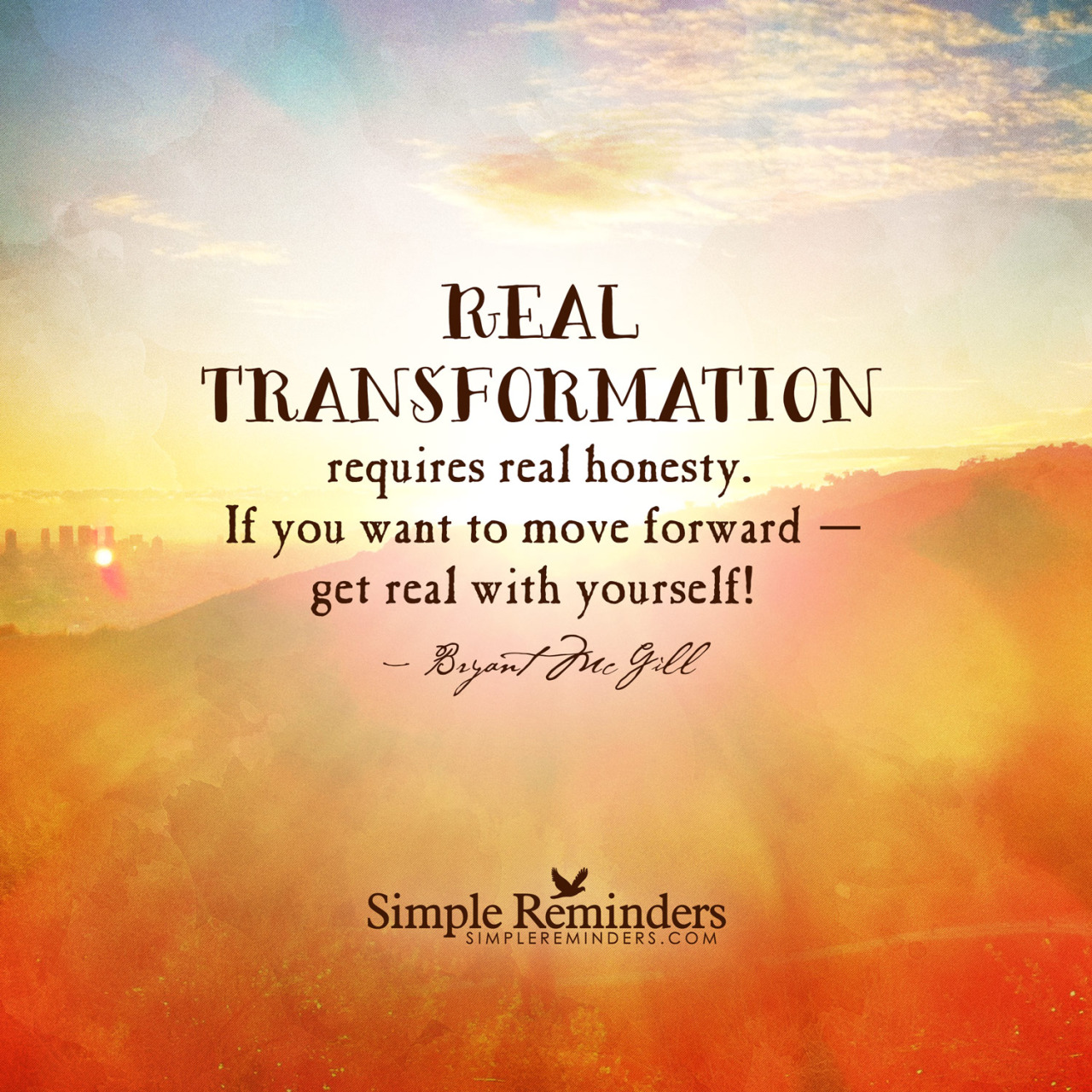 Honesty Quotes Transformation Quotes Real Transformation Requires Real Honesty If