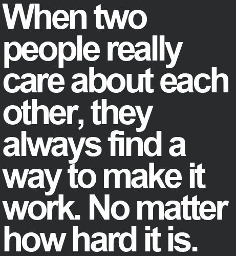 True Love Quotes when two people really care about