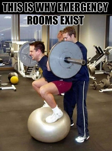 Weightlifting Memes This is why emergency rooms exist