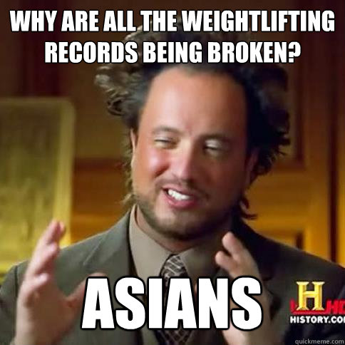 Why are all the weightlifting records being Weightlifting Memes