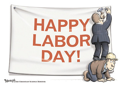 Wish You Labor's Day Wishes Banner