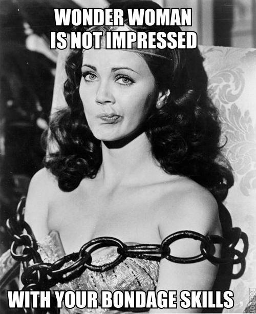 Woman Memes wonder woman is not impressed