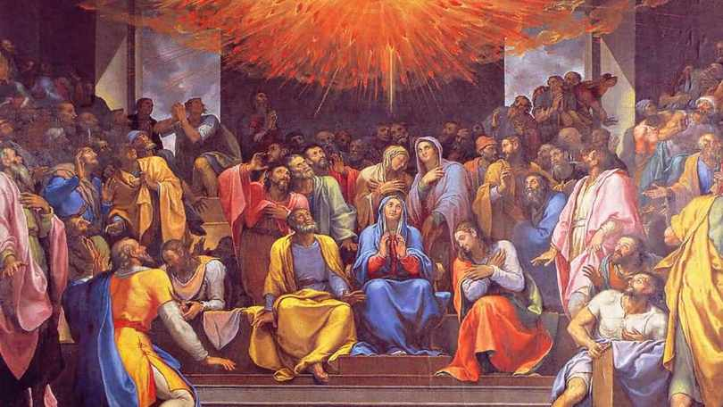 Beautiful Pentecost Greetings Message Picture
