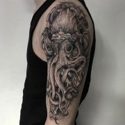 Black Ink Tattoos