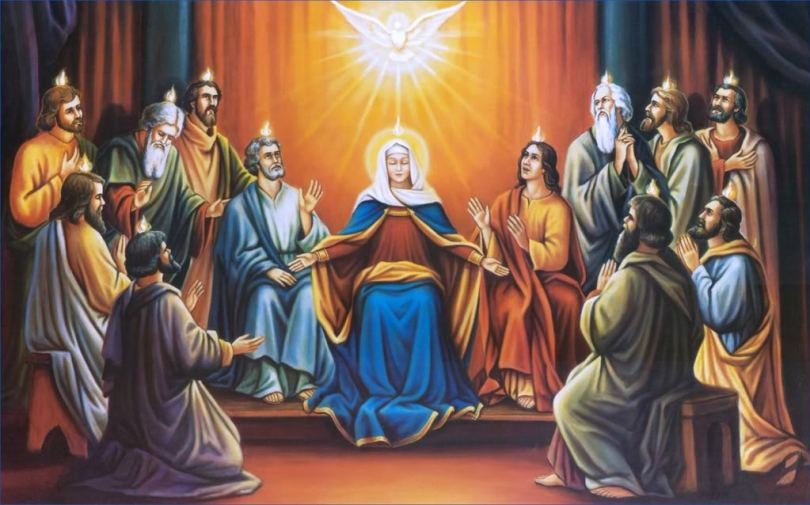Celebrate Happy Pentecost Greetings Wishes Images