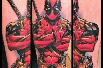 Deadpool Tattoos