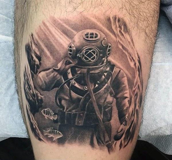 Diver Tattoos