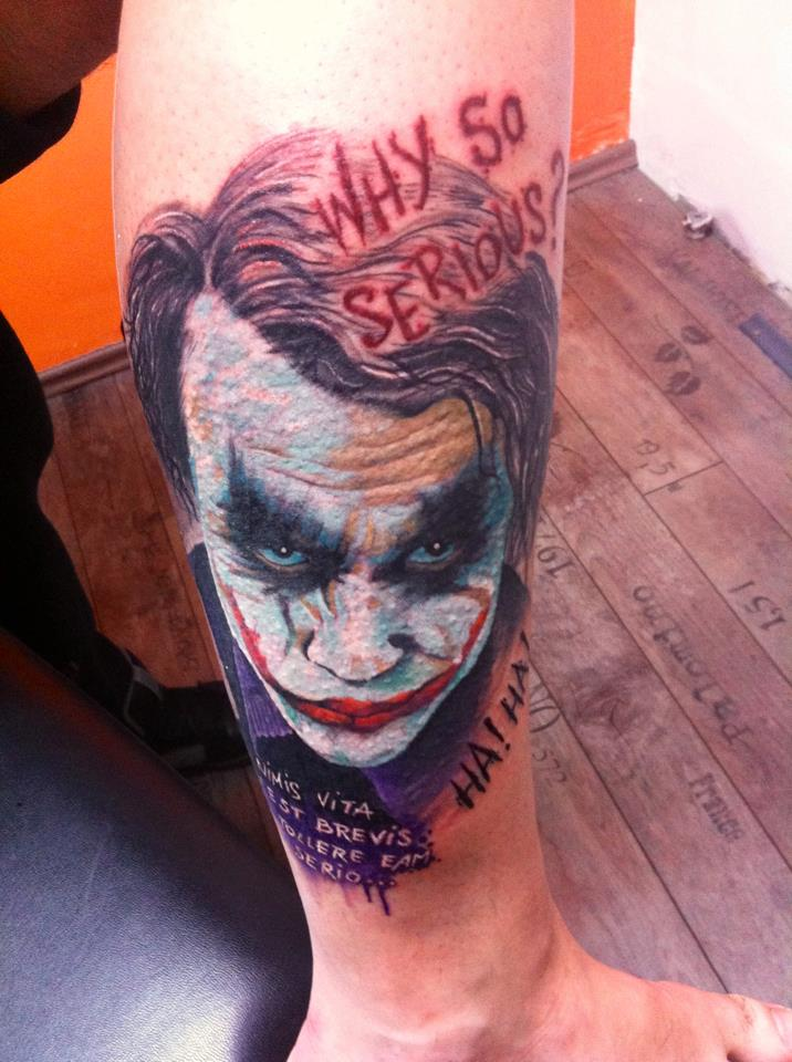 Joker Tattoos 008