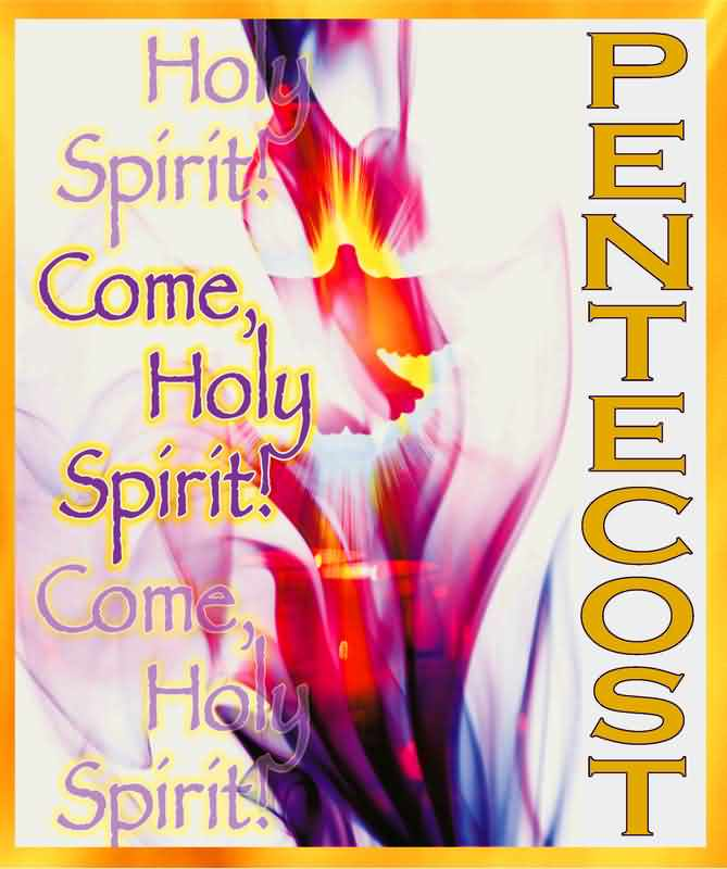 Pentecost Greetings Card Picture