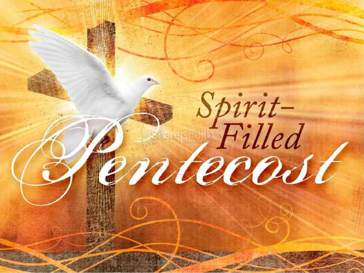 Pentecost Greetings E Card Images