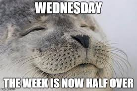 Wednesday Meme Wednesday the week is now half over