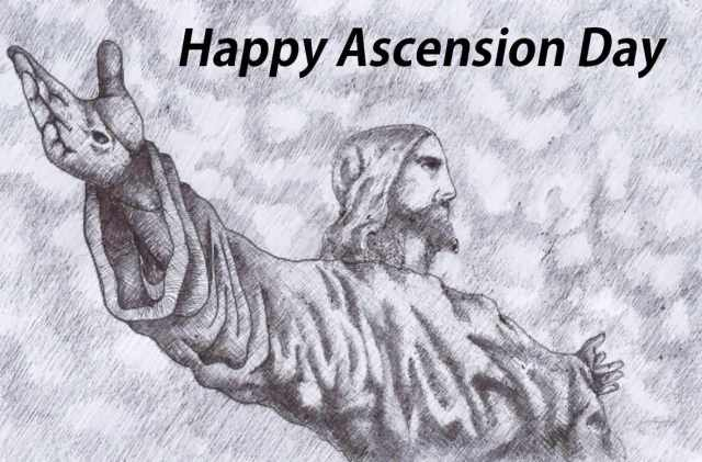 Wonderful Happy Ascension Day Greetings Message To Friends