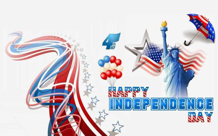 4th July Celebrations Wish You Very Happy Independence Day Wishes Message Image