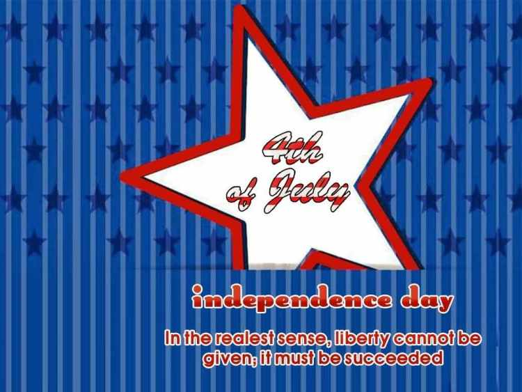 4th Of July Happy Independence Day Greetings Quotes And Message Image