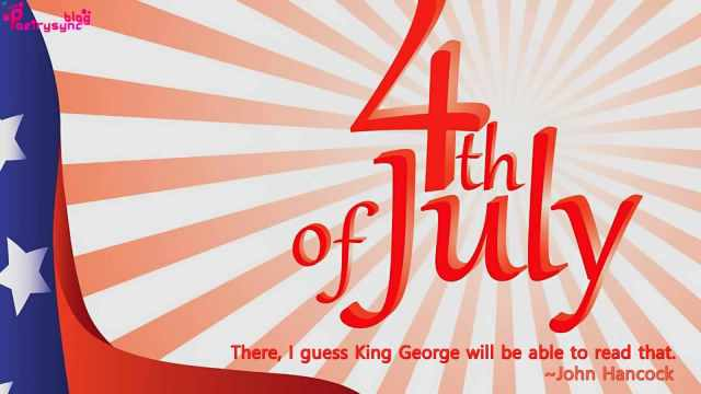 4th Of July There I Guess King George Will Be Able To Read That By John Hancock Image