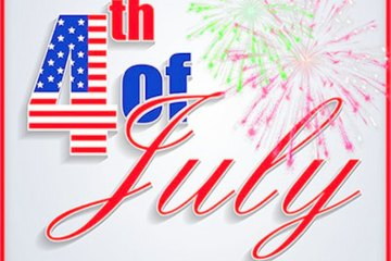 4th of July Greetings Card Image