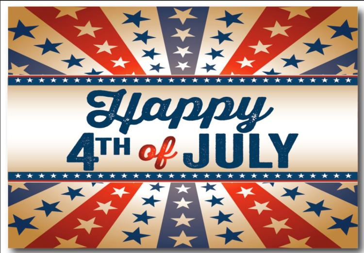 4th of July Greetings Message Image