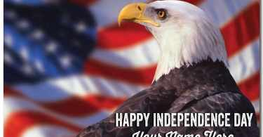 American Eagle Day Wishes Message And Wallpaper