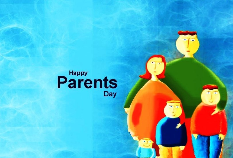 Best Wishes Happy Parents Day Lovable Parents