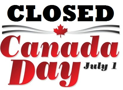 Closed 1st July happy Canada Day Wishes Message Image