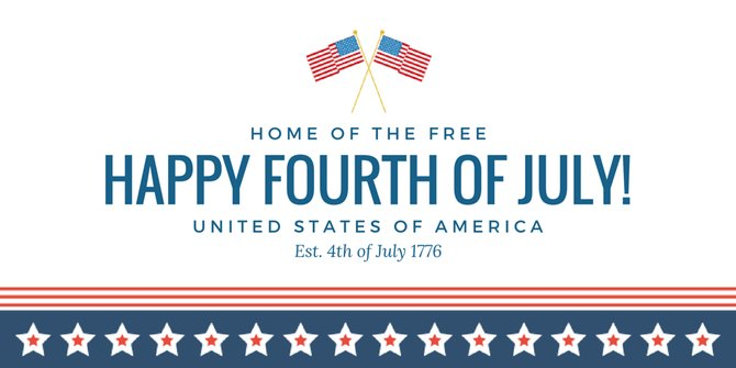 Happy 4th Of July Independence Day Greeting Image